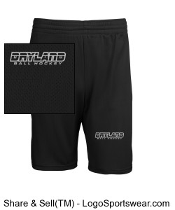 Adult Mini Mesh League Short Design Zoom